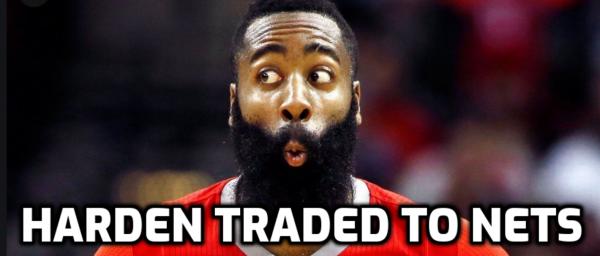 Harden Headed to Nets in Blockbuster 4-Team Deal