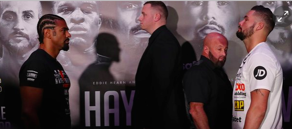 Haye-Bellew Fight Odds