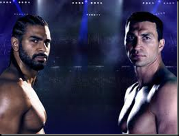 Haye Klitschko Fight Odds