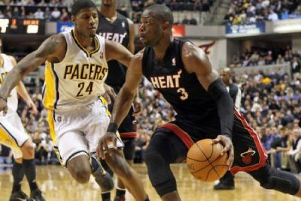 Heat vs. Pacers Line at Miami -3:  Game 7 NBA Playoffs