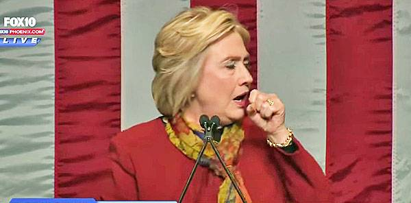 Health Concerns See Hillary Clinton Odds Tumble
