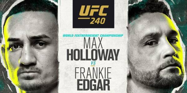 Where Can I Watch, Bet UFC 240 From California
