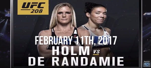 Holm vs. Radamie Fight Odds - UFC 208