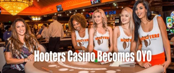 Hooters Hotel Casino Becomes OYO