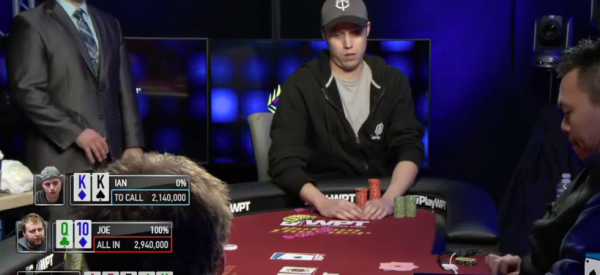 Poker Player Regretting Epic Fold