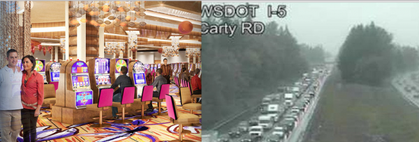 New Casino Opening Causes Mayhem, Mass Traffic Jams