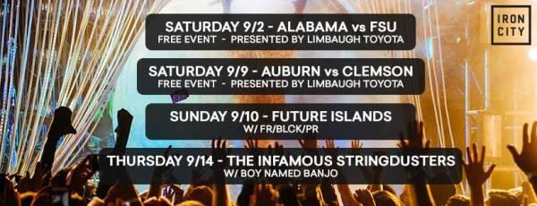 Where to Watch, Bet the FSU vs. Alabama Game: Birmingham, Jefferson County AL