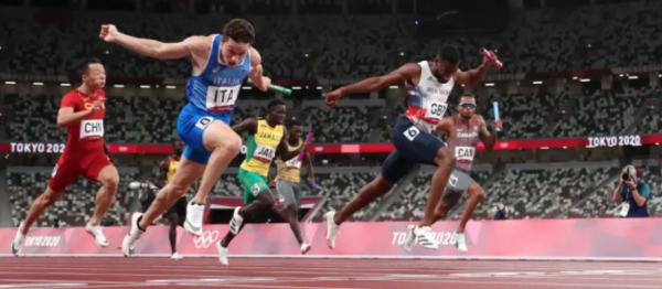 Italy Stuns at Men's 4x100m With $500 Payout on $100 Bet