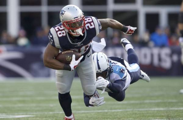James White Touchdown Bet Super Bowl 2017