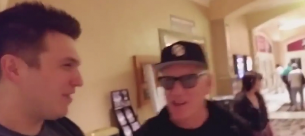 James Polk Hanging With James Woods at the 2017 WSOP