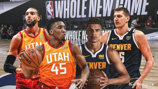 Utah Jazz vs. Denver Nuggets Game 2 NBA Playoffs Betting Odds - August 19