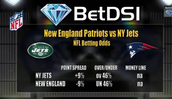 Jets vs. Patriots Point Spread – Betting Preview