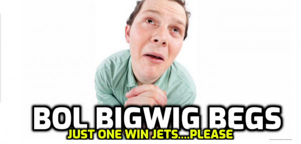 BetOnline's Dave Mason Begs Jets for a Win: Most Bettors on 0-16