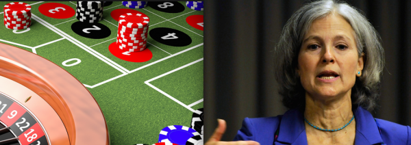 Green Party Candidate Jill Stein Hates Casinos, And Will be Happy to Tell You Why