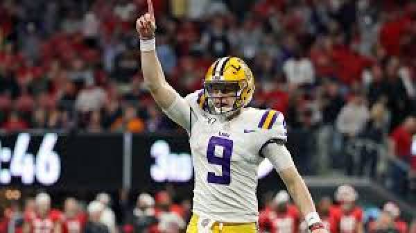 Bet the Number of Total Number of Passing Touchdowns for Joe Burrow - College Football Playoff National Championship Prop