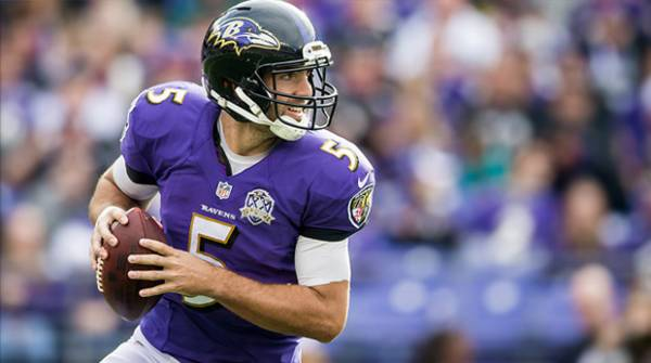 Ravens-Bengals Week 1 Betting Line Sees No Movement Despite Flacco Being Sidelined