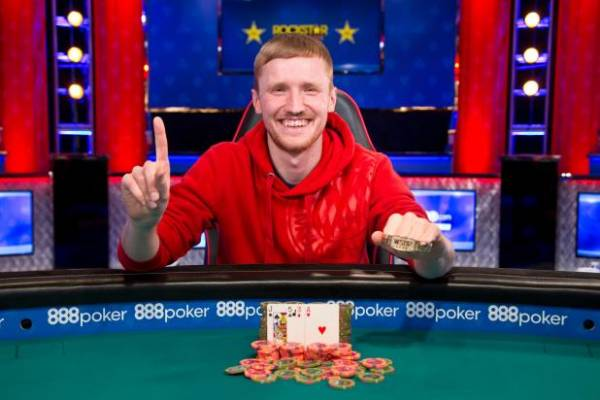 Johannes Becker Wins Event #8, $2500 Mixed Triple Draw Lowball at 2018 WSOP