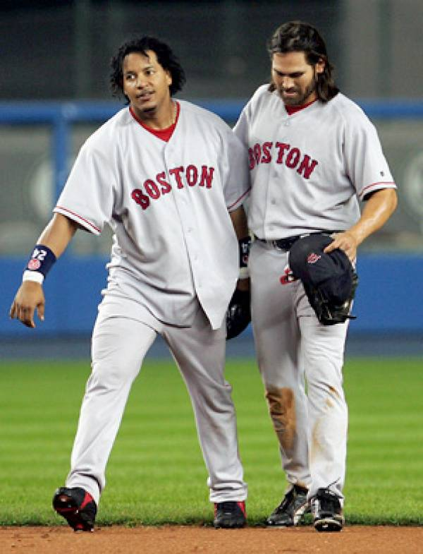 Manny Ramirez, Johnny Damon