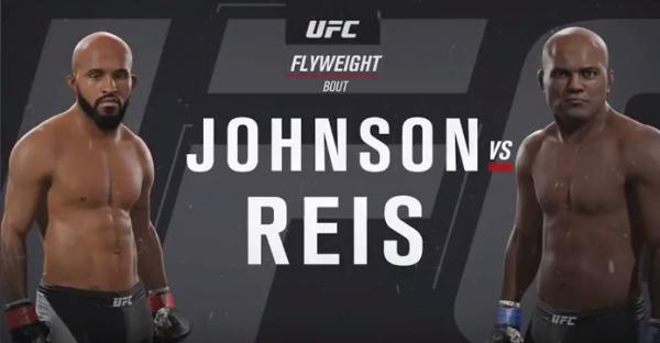 UFC on Fox 24 Betting Odds - Johnson vs Reis