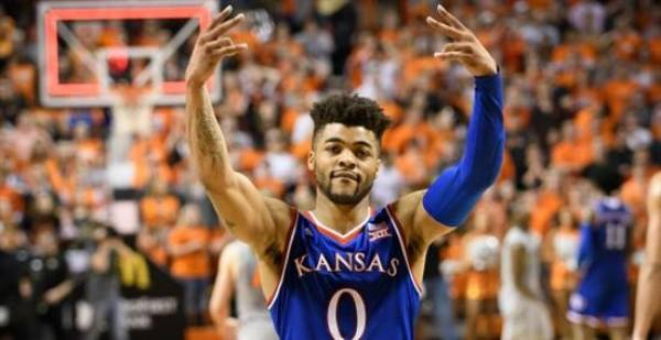 Kansas Jayhawks Odds - November 2 2018: 8-1 to Win Championship