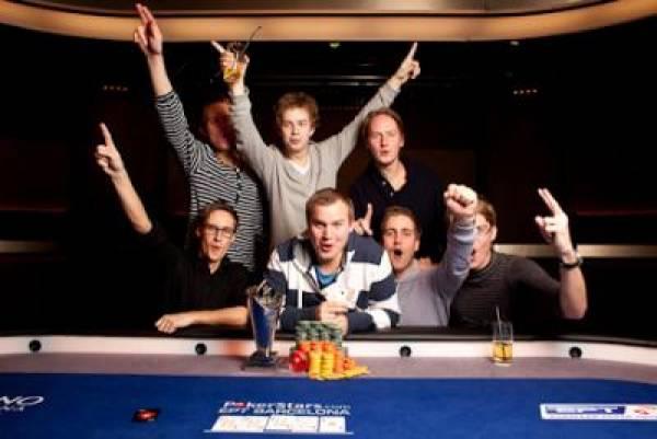 Kent Lundmark Wins 2010 EPT Barcelona