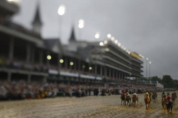 This Year's Kentucky Derby Ties For Most Watched Since 2001