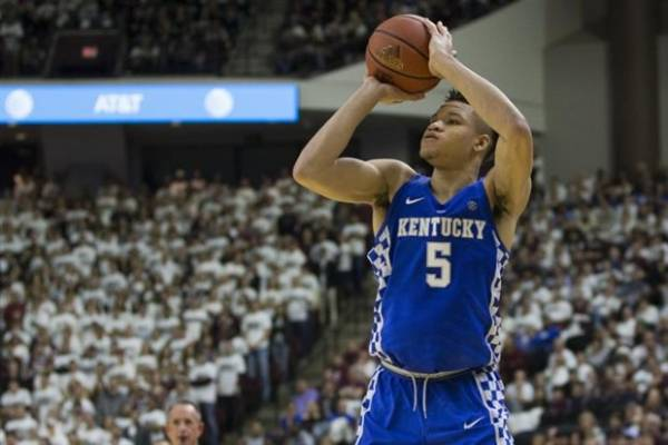 Kentucky Odds to Win the 2018 NCAA Men's College Basketball Championship