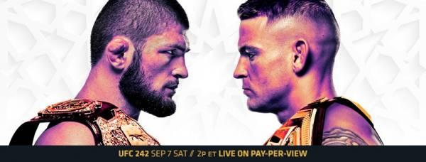 Where Can I Watch, Bet The Khabib vs Poirier Fight - UFC 242 - Buffalo, Rochester
