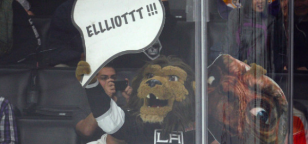 Kings Mascot is a Pervert but the Team is Favored to Win The Stanley Cup This Season