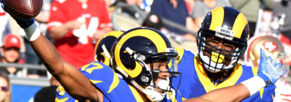 2018 Falcons-Rams Wildcard Playoffs Line