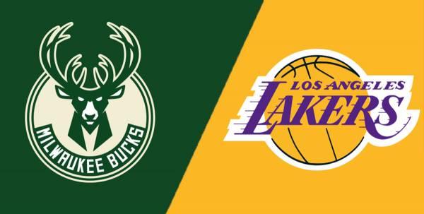 NBA Betting – Los Angeles Lakers at Milwaukee Bucks