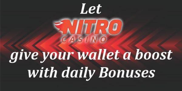 Nitro Casino Offer its Players