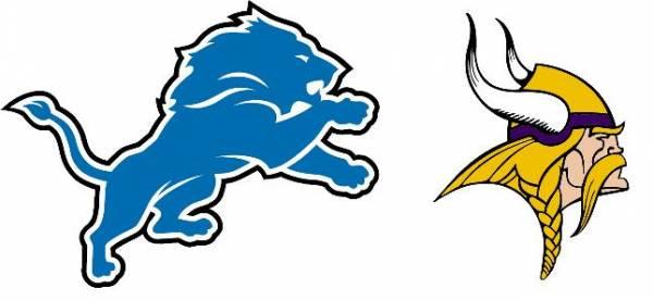 Line on the Vikings-Lions Game Week 7