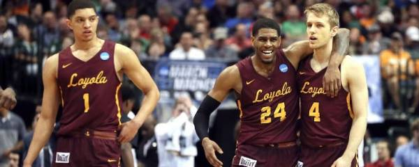 Loyola Chicago Odds to Win the 2018 NCAA Men's College Basketball Championship at 65-1