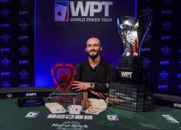 Seminole Hard Rock Hotel & Casino Hollywood Announces Winner of 2020 Lucky Hearts Poker Open
