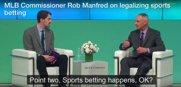 MLB Commish: Reconsidering Stance on Sports Betting