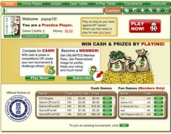 Mahjong Time Online Casino