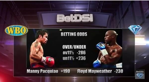Betting odds mayweather vs pacquiao 130 betting line