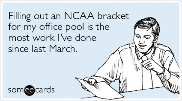 March Madness: Fill Out That Bracket But No Wagering Please