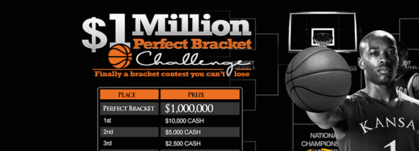 2017 March Madness $1 Million Perfect Bracket Contest Released by Bookmaker