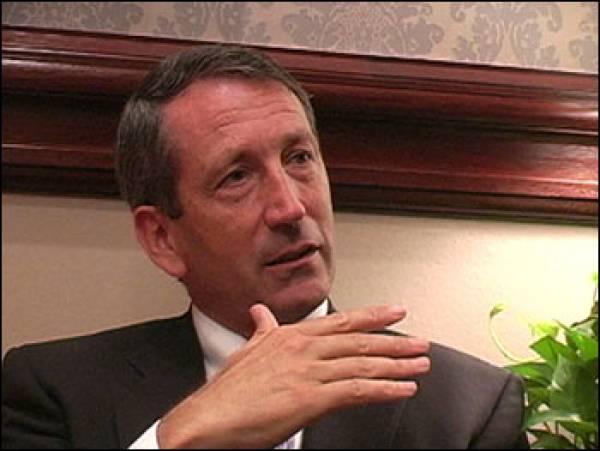 Mark Sanford Resigning