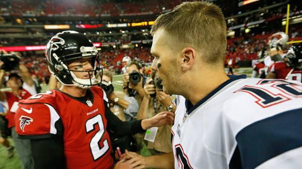 Tom Brady vs. Matt Ryan Super Bowl Betting Prop