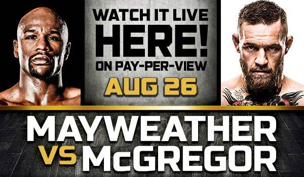 Where Can I Watch, Bet the Mayweather-McGregor Fight Birmingham, Alabama