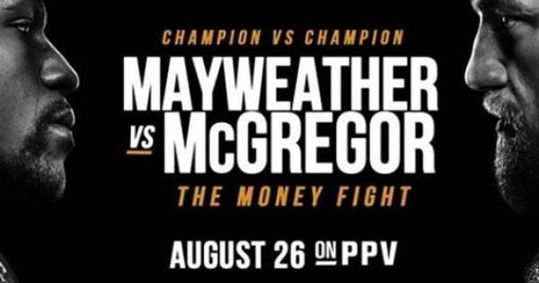 Where Can I Watch the Mayweather-McGregor Fight Near Dulles Airport, Herndon, Reston