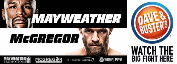 Where Can I Watch, Bet the Mayweather-McGregor Omaha