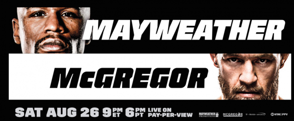 Where Can I Watch, Bet the Mayweather-McGregor Fight Syracuse