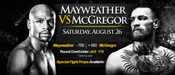 Overnight Odds - Mayweather-McGregor Fight