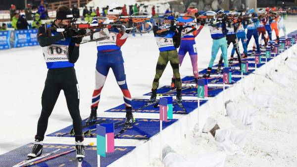 Men's Biathlon Odds to Win Gold - 15km Mass Start