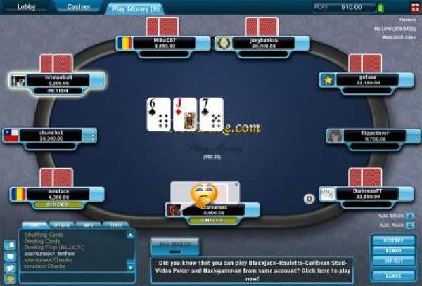 Merge Poker Checks