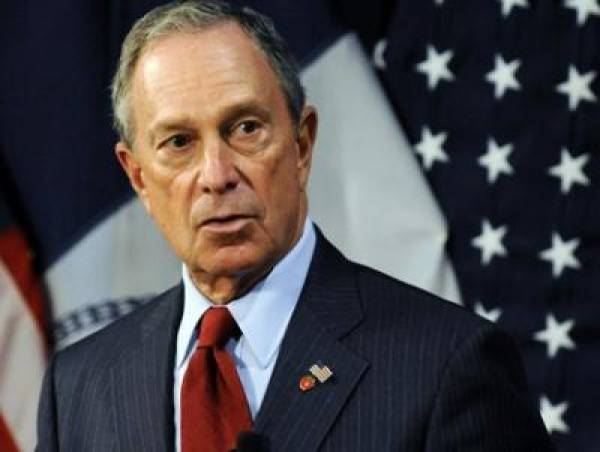 Michael Bloomberg Snowstorm